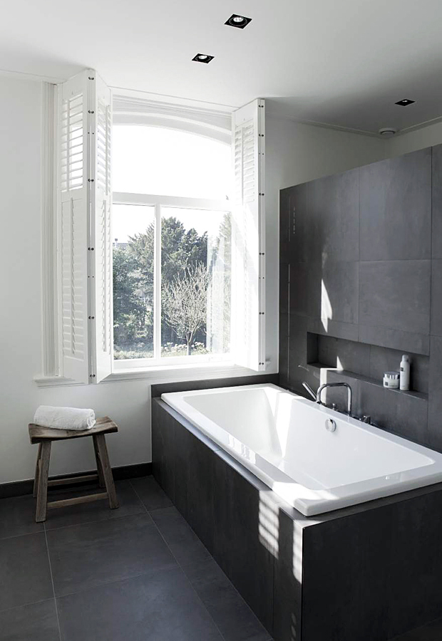 Room Envy A Smart Monochrome Bathroom These Four Walls