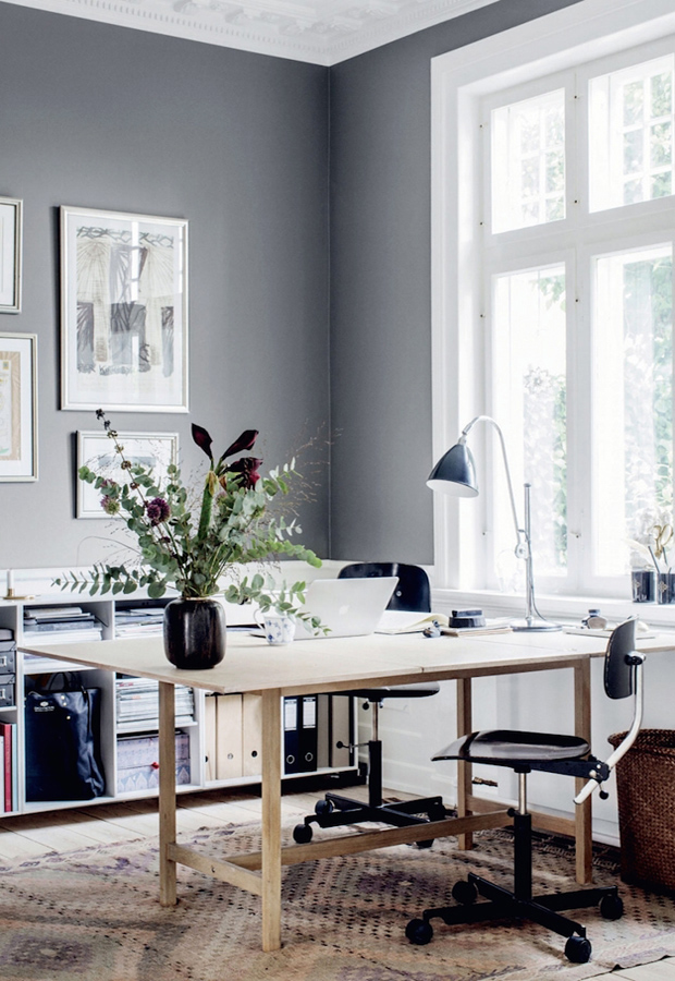Home Tour A Danish Cottage In Calming Greys These Four