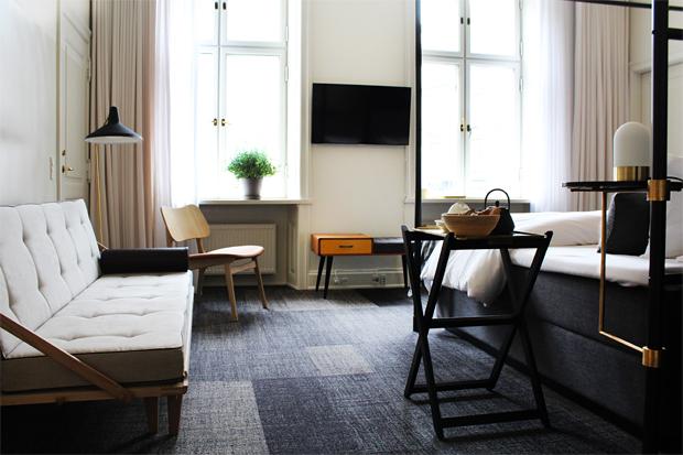 Hotel danmark copenhagen these four walls for Design hotel copenhagen