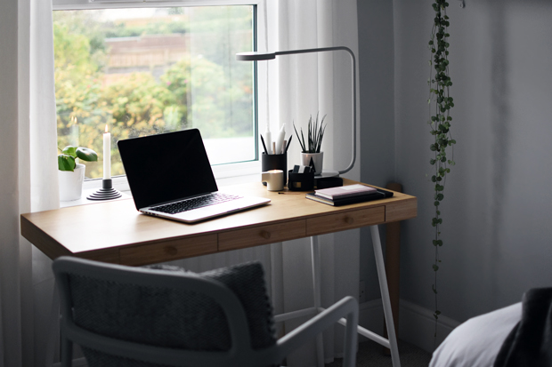 Home office styling with the ikea x hay ypperlig range for Table ypperlig