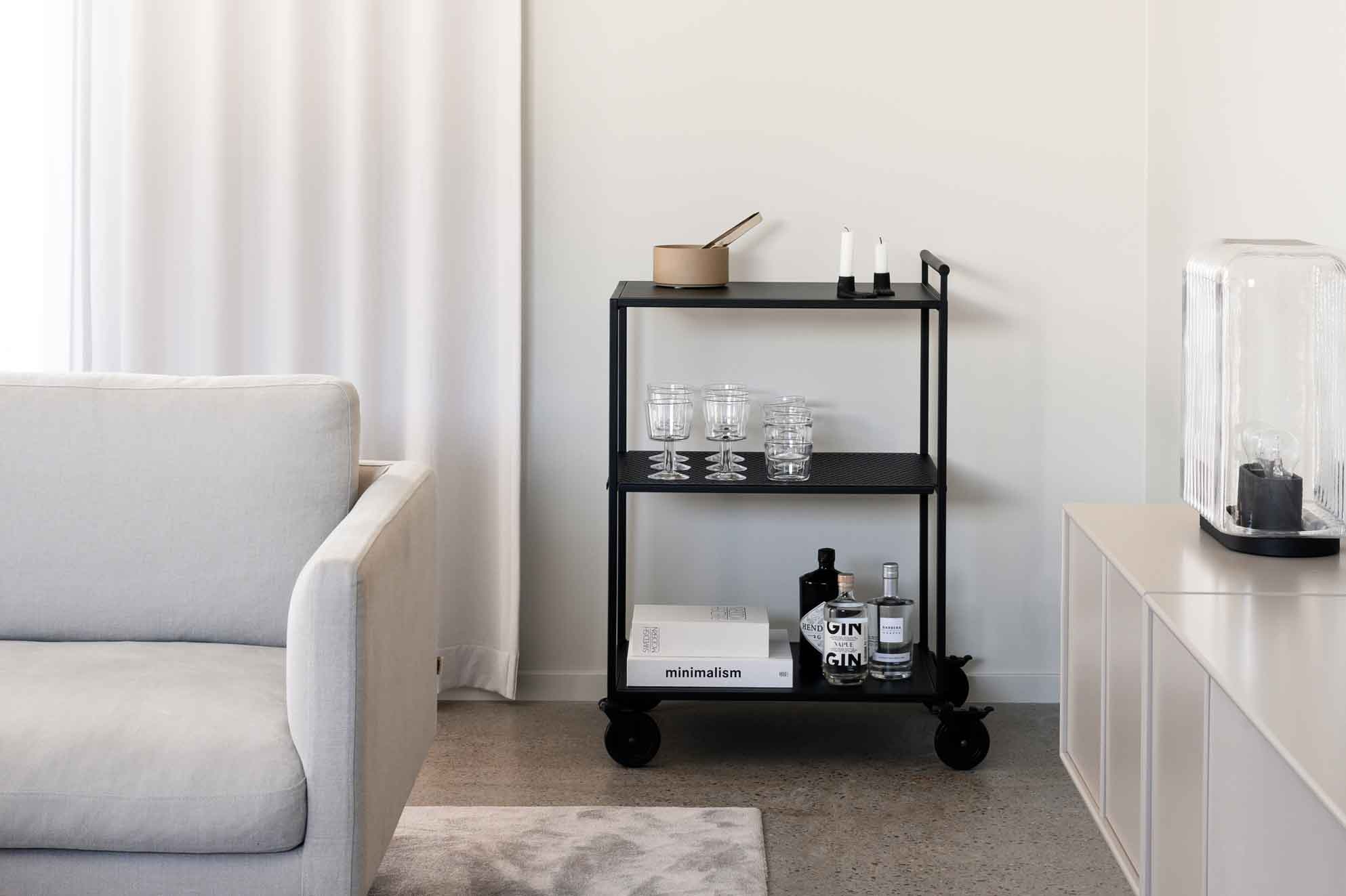 12 Of The Best Minimalist Bar Carts Serving Trolleys These Four Walls